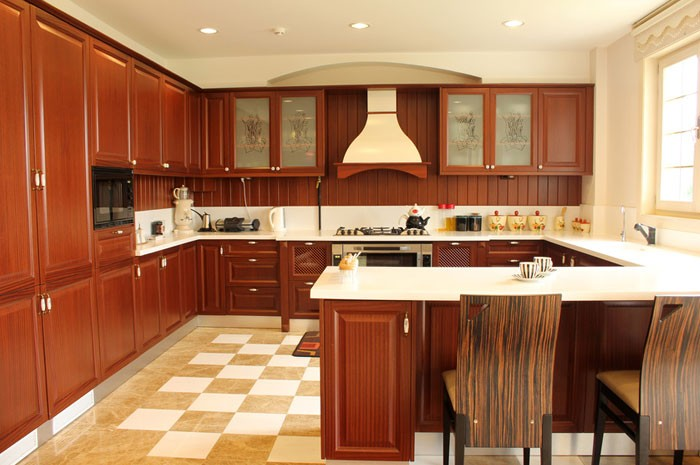 Kitchen units ideal choice for a lower budget for Built in kitchen cupboards for a small kitchen